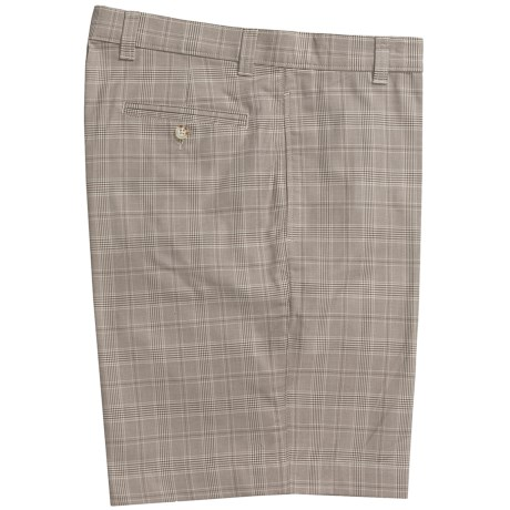 Vintage 1946 Glen Plaid Shorts - Cotton (For Men)