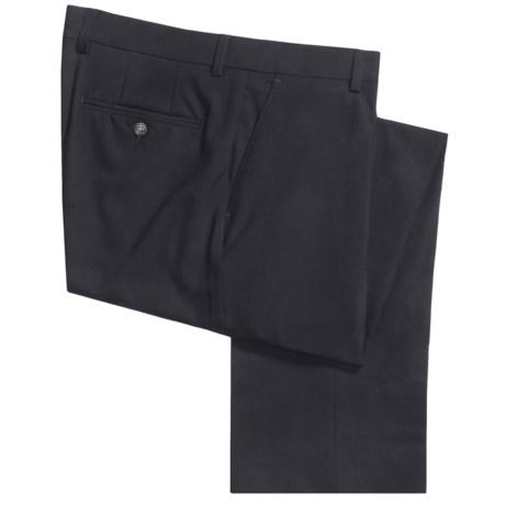 Barry Bricken Stretch Wool Dress Pants - Flat Front (For Men)