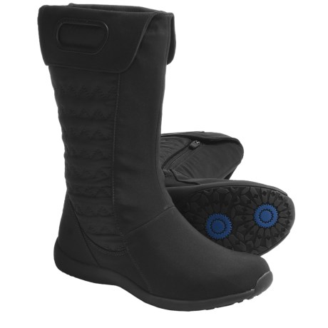 Patagonia Fiona Mid Winter Boots - Insulated, Quilted, Side Zip (For Women)