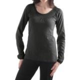 Yala Peyton Smocked Shirt - Organic Cotton, Long Sleeve (For Women)