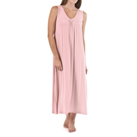 Bamboo Dreams® by Yala Molly Gathered Nightgown - Sleeveless (For Women)