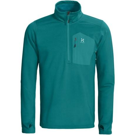 Haglofs Bungy Fleece Pullover Jacket - Polartec® Power Stretch® Pro, Zip Neck (For Men)