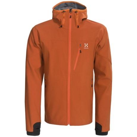 Haglofs Boiga Jacket - Soft Shell, Hooded (For Men)