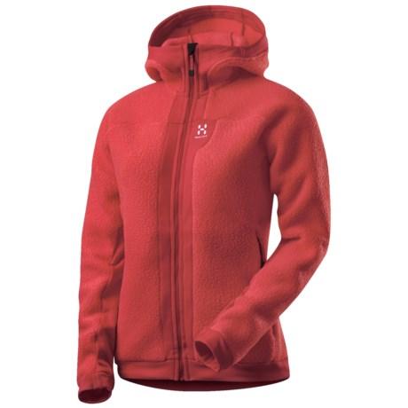 Haglofs Thule Fleece Jacket - Polartec® Power Stretch®, Hooded (For Women)