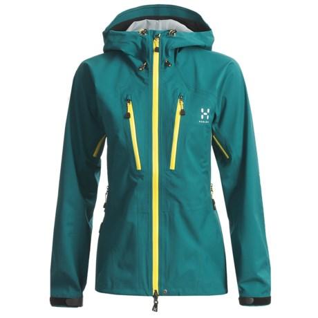 Haglofs P3 Zenith Q Proof Jacket - Waterproof, Recycled Materials (For Women)