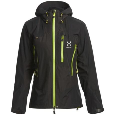 Haglofs Arete Q Gore-Tex® Performance Shell Jacket - Waterproof (For Women)