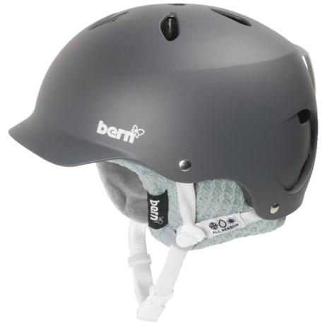 Bern Lenox EPS Ski Helmet - Removable Winter Liner (For Women)