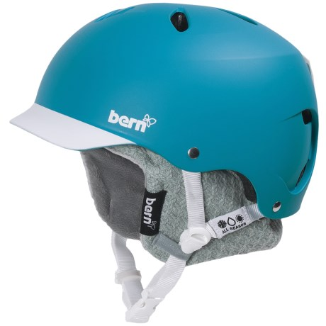 Bern Lenox Brimstyle EPS Multi-Sport Helmet - Removable Winter Liner (For Women)