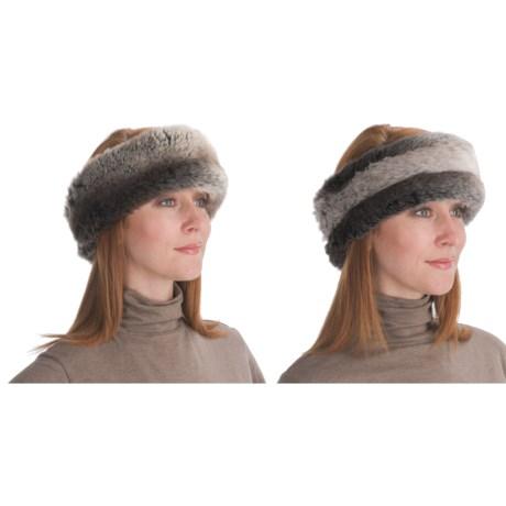 Parkhurst Reversible Faux-Fur Headband (For Women)