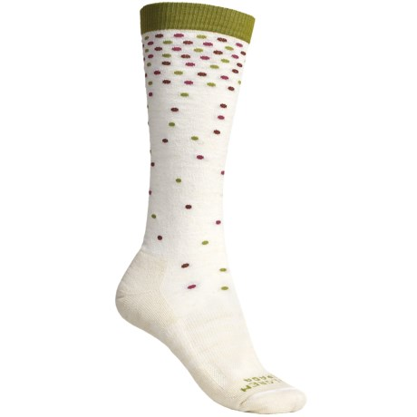 Dahlgren Confetti Socks - Merino Wool-Alpaca, Lightweight (For Women)