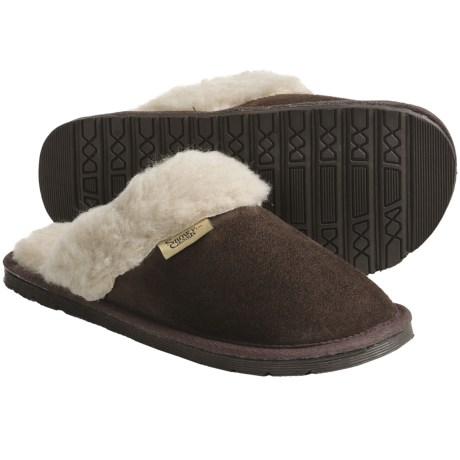 Snowy Creek Scuff Slippers - Microfiber (For Women)