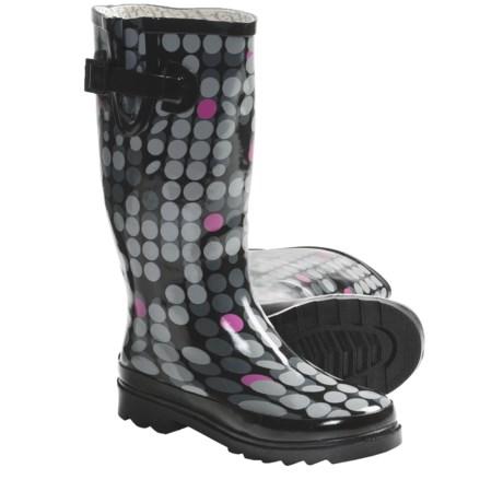 Chooka Scatter Dot Rain Boots - Waterproof Rubber (For Women)