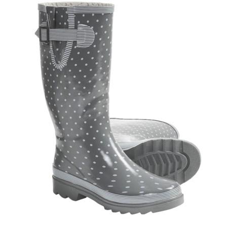 Chooka Classy Classic Buckle Rain Boots (For Women)