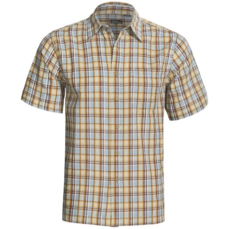Royal Robbins Mountain Air Seersucker Shirt - Short Sleeve (For Men)