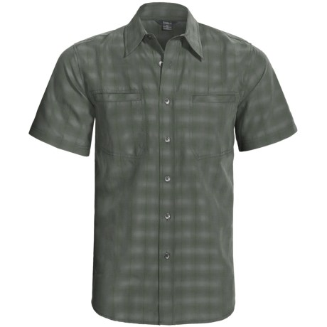 Royal Robbins Sprocket Plaid Shirt - UPF 40+, Short Sleeve (For Men)