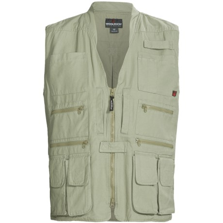 Woolrich Elite Tactical Vest - Cotton Canvas (For Men)