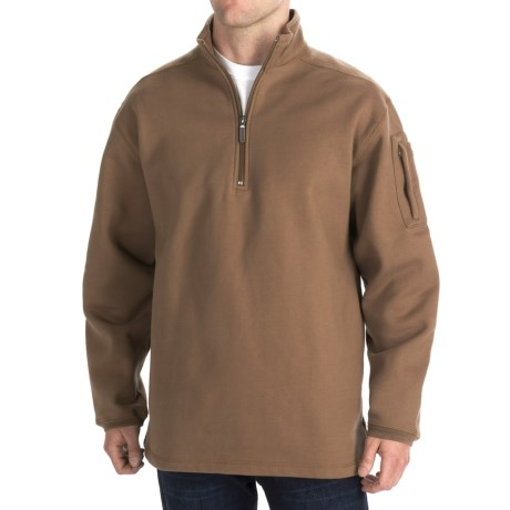 Woolrich Elite Tactical Sweatshirt - Zip Neck, Fleece (For Men)