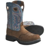 Twisted X Boots EZ-Rider Work Boots - Steel Toe, Pull-On, Leather (For Men)