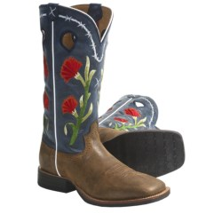 "Twisted X Boots Ruff Stock 13"" Cowboy Boots - NWS Toe (For Women)"