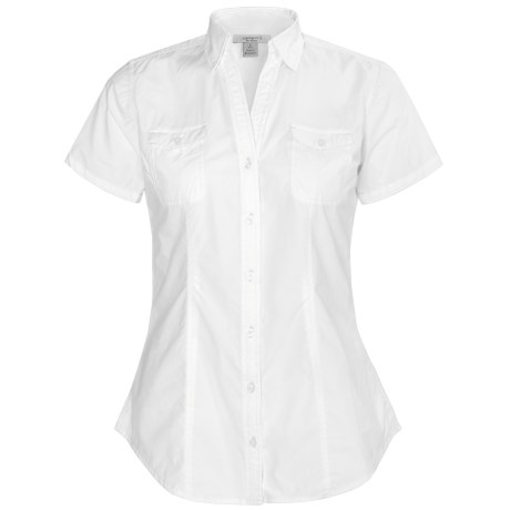 Carhartt Camp Shirt - Cotton, Short Sleeve (For Women)