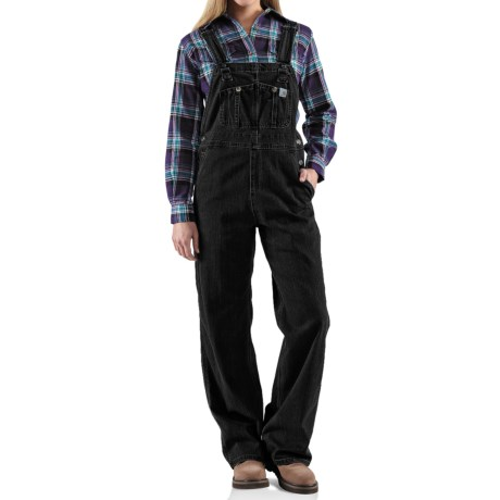 Carhartt Denim Bib Overalls - Unlined (For Women)