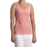 Carve Designs Dellis Empire Waist Tank Top - Stretch Cotton (For Women)