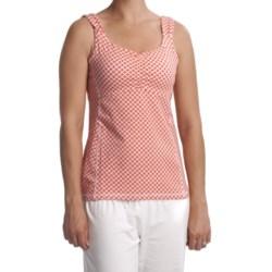 Carve Designs Dellis Empire Waist Tank Top - Stretch Cotton (For Women)