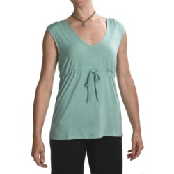 Carve Designs Roller Cinched Shirt - Modal, Sleeveless (For Women)