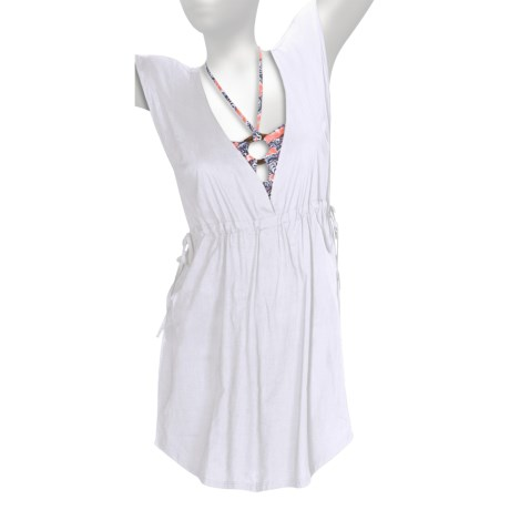 Carve Designs Banyan Cover-Up Dress - Sheer Cotton, Sleeveless (For Women)