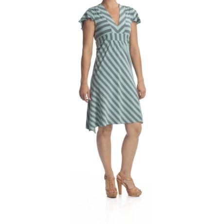 Carve Designs Paris Dress - Pima Jersey, Short Sleeve (For Women)