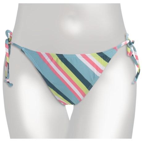 Carve Designs La Paz Bikini  Bottoms - UPF 50+ String-Tie Sides (For Women)