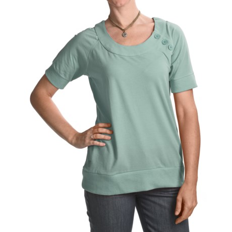 Carve Designs Sunspring Shirt - Organic Cotton, Short Sleeve (For Women)