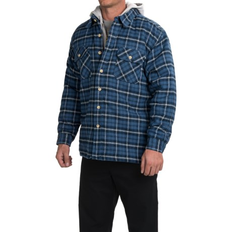 Moose Creek Quilted Hoodie Sweatshirt - Dakota II (For Men)