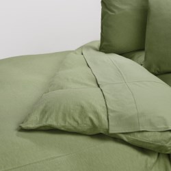 Coyuchi Slub Jersey Organic Cotton Duvet Cover - Twin