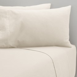 Coyuchi Cloud Brushed Flannel Fitted Sheet - King, Organic Cotton