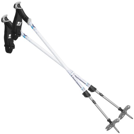 Black Diamond Equipment Boundary Adjustable Ski Poles - Pair