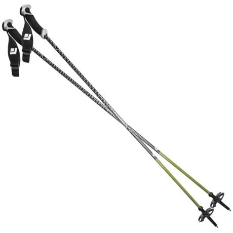 Black Diamond Equipment Fixed Length Carbon Alpine Ski Poles - 110-130cm, Pair