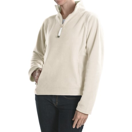 Colorado Clothing Microfleece Pullover - Heavyweight, Zip Neck  (For Women)
