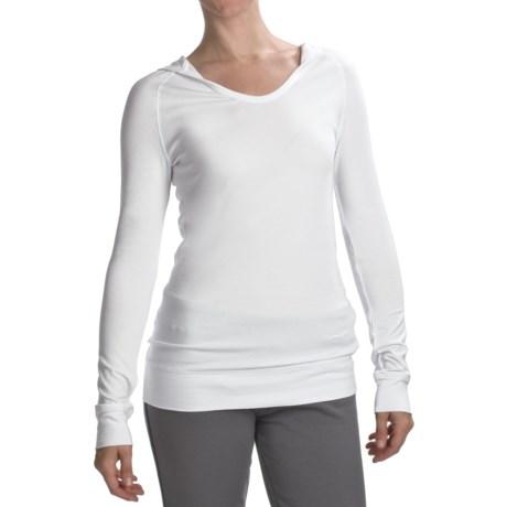 SoyBu Harmony Hooded Shirt - Long Sleeve (For Women)