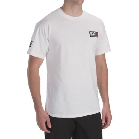 5.11 Tactical Logo T-Shirt - Short Sleeve (For Men)
