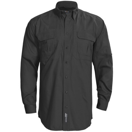 5.11 Tactical Tactical Shirt - Cotton Canvas, Long Sleeve (For Tall Men)