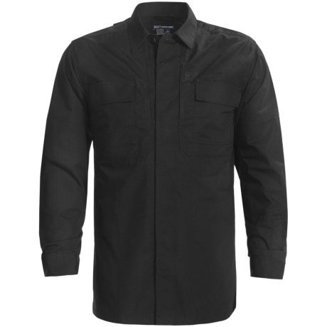5.11 Tactical Ripstop TDU Shirt - Long Sleeve (For Tall Men)