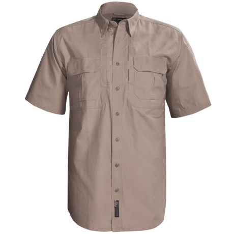5.11 Tactical Tactical Shirt - Cotton Canvas, Short Sleeve (For Tall Men)