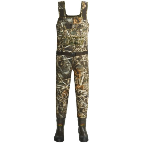 Allen Co. North Wind Camo Chest Waders - Neoprene, Insulated, Bootfoot (For Men)