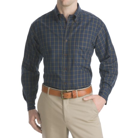 Bills Khakis Harrison Plaids Shirt - Long Sleeve (For Men)