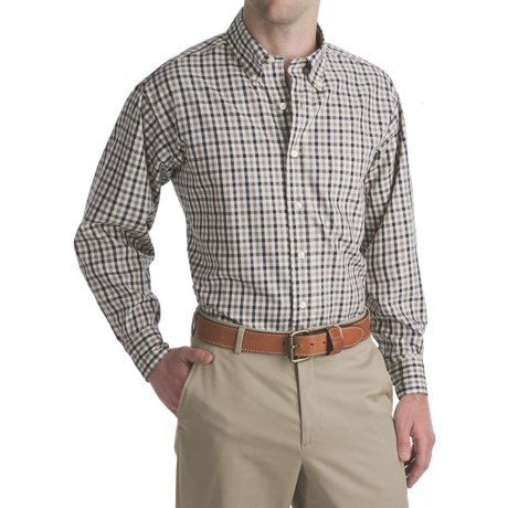 Bills Khakis Oxford Brooklyn Check Shirt - Long Sleeve (For Men)
