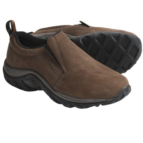 Merrell Jungle Moc Shoes - Slip-Ons, Nubuck (For Women)