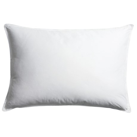 Blue Ridge Home Fashions White Duck Down Pillow - Jumbo, 233 TC