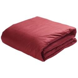 Blue Ridge Home Fashions Down Comforter - King, 75/25 Duck Down/Feather, 233 TC