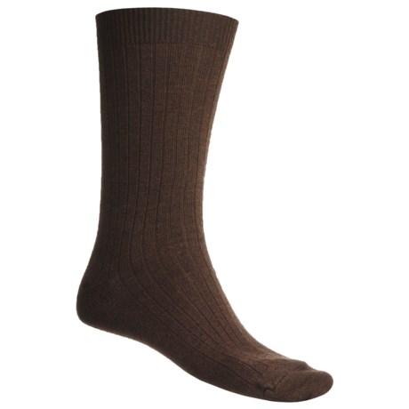 b.ella Ribbed Dress Socks - Cotton Blend (For Men)